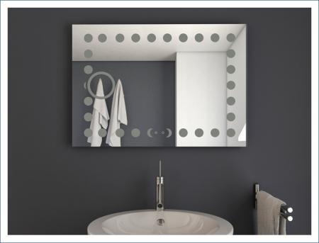 AYAZ20DL Dokunmatik Mercekli Işıklı Ayna - 60 X 80 cm resim2