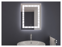 AYAZ2DL Dokunmatik Mercekli Işıklı Ayna - 60 X 80 cm - AYAZ2DL6080M