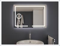 AYAZ3DL Dokunmatik Mercekli Işıklı Ayna - 60 X 80 cm - AYAZ3DL6080M