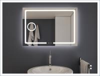 AYAZ3DL Dokunmatik Buğu Önleyicili Işıklı Ayna - 60 X 80 cm - AYAZ3DL6080R