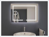 AYAZ7DL Dokunmatik Mercekli Işıklı Ayna - 60 X 80 cm - AYAZ7DL6080M
