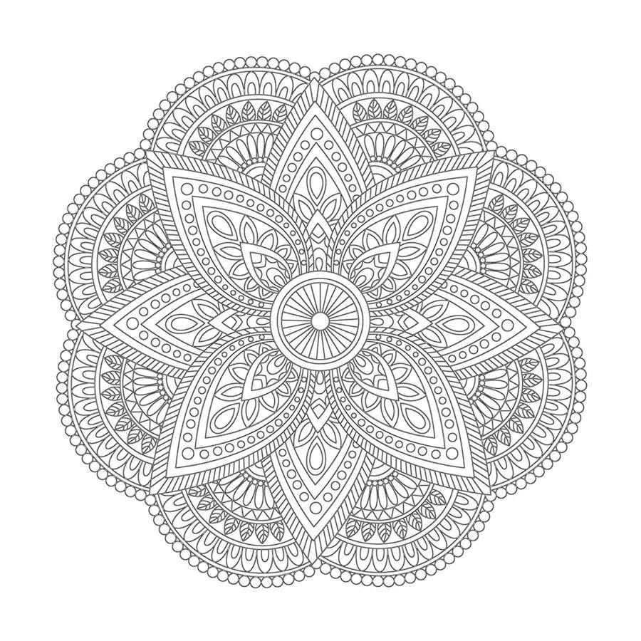 çiçek Desenli Boyama Tablo Boyama Tablo Cerceveletcom Mandala