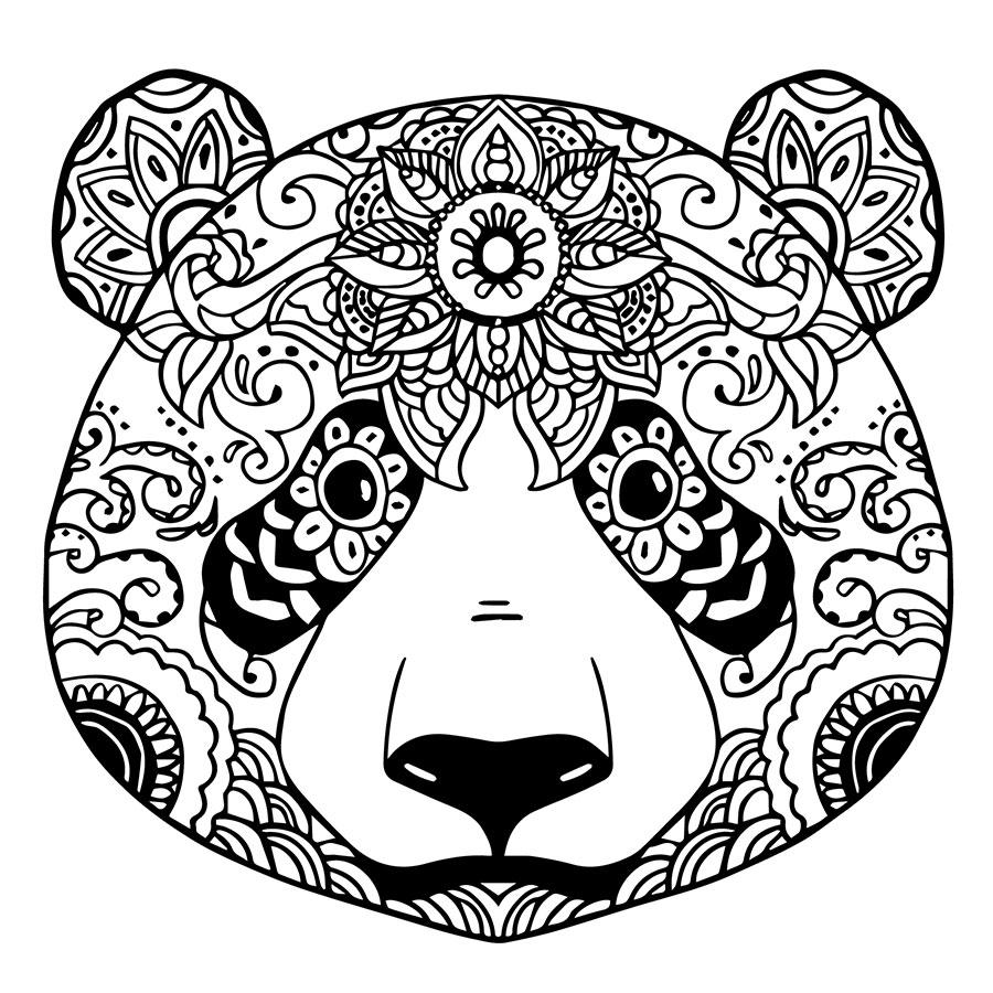 Pandalı Boyama Tablo Boyanabilir Tablo Cerceveletcom Mandala